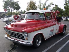 55 Chevy Restored Tow Truck