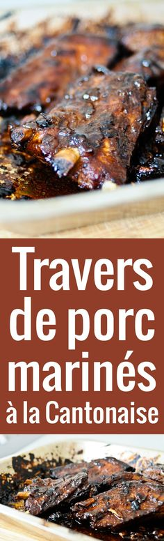 Best de travers de porc recipe on pinterest - Cuisiner travers de porc ...