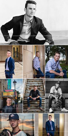 Senior Session Information Includes Prices, Tips and Image Gallery Senior Picture Poses, Boy Senior Portraits, Senior Boy Poses, Senior Portrait Poses, Poses Photo, Photography Senior Pictures, Senior Picture Outfits, Photography Poses For Men, Senior Portrait Photography