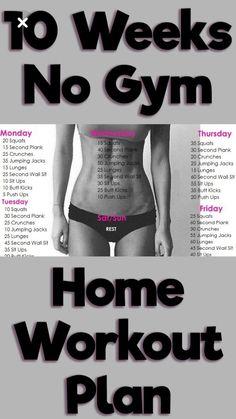 10 No Gym Home Workouts