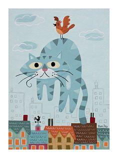 Ilustracje nie tylko dla dzieci - Eric Barclay