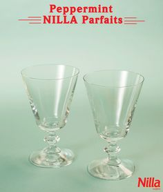 Enjoy these Peppermint NILLA Parfaits at your next holiday gathering. They not only taste great, but they look great too! Holiday Baking, Christmas Desserts, Christmas Treats, Holiday Treats, Holiday Recipes, No Bake Desserts, Just Desserts, Delicious Desserts, Yummy Food