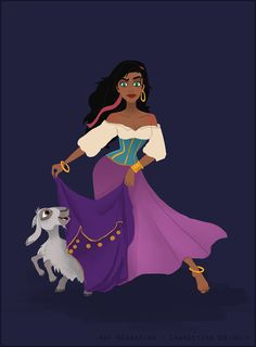 "Esmeralda by S-Cliic.deviantart.com on @deviantART  - ""The Hunchback of Notre Dame"" Disney"