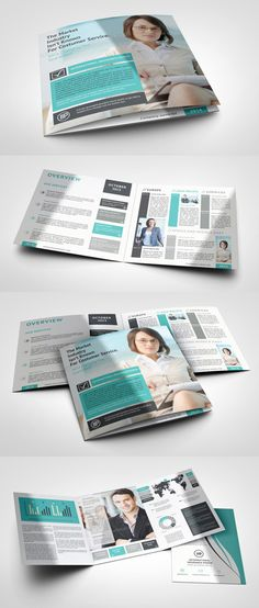 Creative and professionally designed corporate Tri-Fold, Bi-Fold brochure used for all business purpose. Corporate Brochure Design, Bi Fold Brochure, Brochure Layout, Corporate Flyer, Business Brochure, Brochure Ideas, Collateral Design, Branding Design, Logo Design