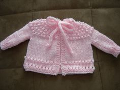 [Free Pattern] This 5 Hour Baby Sweater Is A Spectacular Pattern That Is Easy To Make For Anyone!