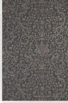 Papier Peint orsay noir - Signature de Casadeco | Réf. SIGN81979501