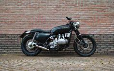 Honda GL1000 Street by Ronald Jonkman Hevik Spring Summer 2015 #streettracker #motorcycles #motos   caferacerpasion.com