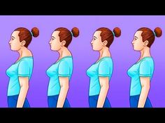 HOW TO GET THE PERFECT POSTURE Strong straight spine is essential for our health. So check out these healthy hacks. They'll help you get the perfect posture. Healthy Spine, Perfect Posture, Hands Together, Back Exercises, Abdominal Muscles, Sit Up, How To Get Rid, Easy Workouts, Diet