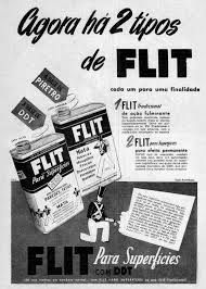 Anuncio do mata mosquitos FLIT