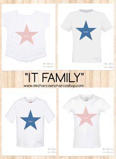 Camisetas, sudaderas y complementos divertidos para toda la familia.