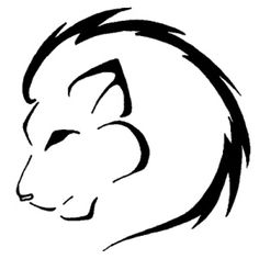 Stencil for the lion tattoo I want
