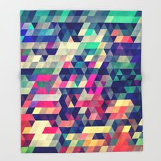 Society6.com - throw blanket $49+shipping (*AWESOME site- home decor items etc. All made by independent artists! Really unique stuff on here!!!) Buy Atym Throw Blanket by Spires. Worldwide shipping available at Society6.com. Just one of millions of high quality products available.
