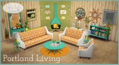Sims 4 CC's - The Best: Portland Living by SaudadeSims
