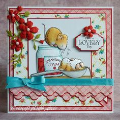 penny black mouse and strawberry jam - Google Search