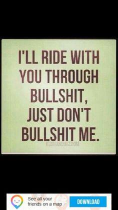 Ride through