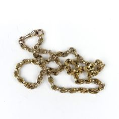 A heavy 9ct gold chain Prince of Wales links, with 9ct dog clip, 56.5gm. / MAD on Collections - Browse and find over 10,000 categories of collectables from around the world - antiques, stamps, coins, memorabilia, art, bottles, jewellery, furniture, medals, toys and more at madoncollections.com. Free to view - Free to Register - Visit today. #Jewelry #Chains #MADonCollections #MADonC