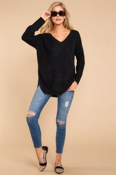 Which is why I had to have this ultra cozy knit sweater. 2824e5c47