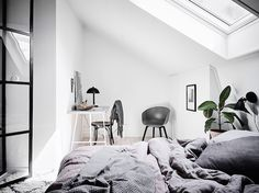 my scandinavian home: A beautiful Swedish apartment in the attic