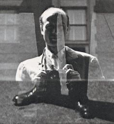 Harry Callahan Autoportrait.