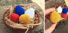 Horgolt tojás minta leírással a tökéletes húsvéti dekorációhoz - Sima kötés Wicker Baskets, Straw Bag, Blog, Decor, Amigurumi, Dekoration, Decoration, Home Decoration, Deco