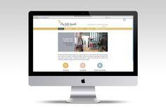 My little boutik on Behance - Création et mise en ligne du site web.