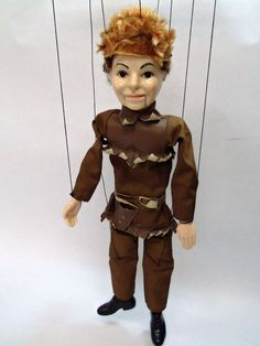 HAZELLE'S MARIONETTE NO. 316-PIONEER was available in product brochures in 1956.  He might have been available as a special order item in the 1950s also.  I don't have this in my collection yet, because he usually sells for a little above my price level.