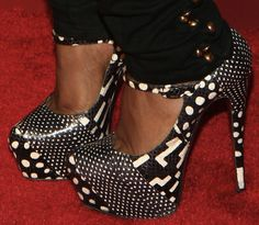 Yandy Smith in Christian Louboutin Lady Daf  Bold or Boring?
