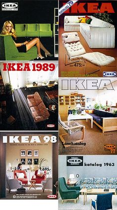 #TBT IKEA catalogues back in the day #IKEA