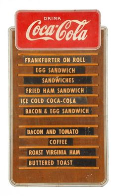 COLD POP Sign Metal vintage Pop Soda Fountain Drive In Sandwich Counter