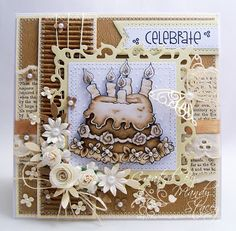 A Sprinkling of Glitter: Monochrome - Simon Says Stamp DT Card & Smiles :)