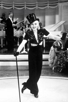 Ginger Rogers in Stage Door (1937)