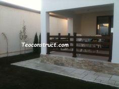 Balustrade din lemn pentru exterior  10 Garage Doors, Exterior, Outdoor Decor, Modern, Home Decor, Italia, Balcony, Trendy Tree, Decoration Home