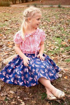 Myra Jumpsuit Pattern by Violette Field Threads Kids Dress Collection, Simple Closet, Jumpsuit Pattern, Swing Top, Buy Fabric, Jumpsuit Dress, Kids Wear, Frocks, Girls Dresses