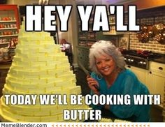 Food Network Humor - Cook with them. Laugh with us. Food Network Humor, Food Network Recipes, Paula Deen, The Only Exception, Cholesterol Lowering Foods, Cholesterol Levels, Cholesterol Symptoms, Haha Funny, Funny Stuff