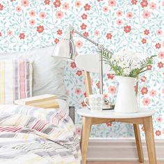 Adesivo de parede Floral Ella