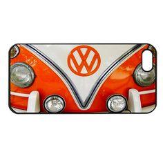 Retro Orange Volkswagen Vw Apple iPhone 5 Case