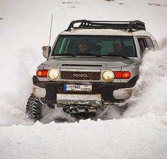 Toyota Fj Cruiser Dashing through the snow. Fj Cruiser Accessories, Voodoo Blue, Adventure Car, Dashing Through The Snow, Toyota Fj Cruiser, Rough Riders, Trd, Arctic, Offroad