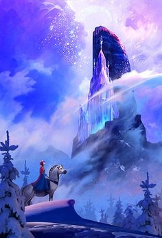 """""""The Ice Palace"""" by Stephan Martiniere"""