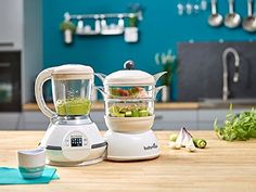 The Nutribaby food steamer and blender is the only food processor that provides the 5 essential functions to feed baby from birth to led-weaning: bottle warmer, steriliser, defroster, steamer and blender. Granita, Steamer Recipes, Bottle Warmer, Led Weaning, Baby Feeding, Baby Food Recipes, Family Meals, Food Processor Recipes
