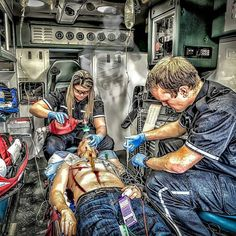 FEATURED POST   @dansunphotoart -  Something I didn't expect while learning to become a Paramedic was being a witness to true family tragedy. Family members trying to resuscitate family members. That is a moment that will forever be tattooed in their brain...and mine. A father doing CPR on his baby or a wife giving rescue breaths to her dying husband. It's easy to work on a patient when you know nothing about them. If I can get them in the back of my ambulance then that's my sanctuary even…