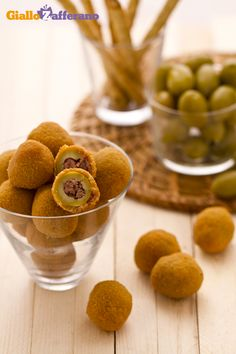 Olive all'ascolana - Fried stuffed olives Ascolana style