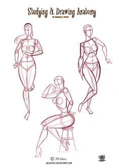 Anatomy  for Artists by celaoxxx page 2 by celaoxxx.deviantart.com on @deviantART