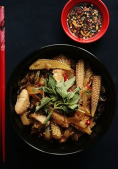 Thai Drunken Noodles / Pad Kee Mao ~ Notions & Notations of a Novice Cook #asian