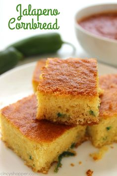 Homemade Cornbread with Jalapeños will make for a perfect side dish with all of…