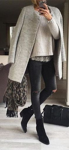 Lovely soft colors and details. Latest Fall Fashion Trends.