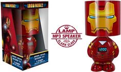 Iron Man lamp (plus speaker for iPod)