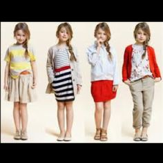 Quick... Someone give me a child to dress! I love these little outfits...make them my size!