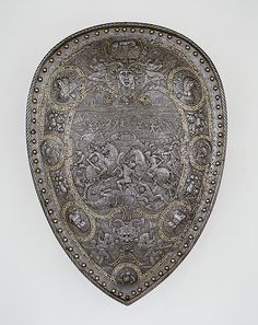 Shield of Henry II of France Date: ca. 1555 The Metropolitan Museum