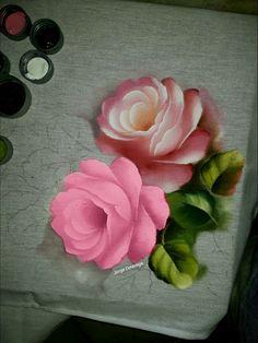 Rosas minhas! Porcelanizadas