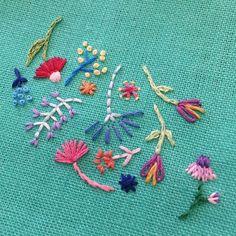 A Stitch In Time • via Happy Cactus Designs